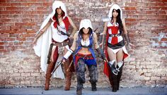 Adam Patrick Murray: Assassin Girls (Cosplay 2)  Wanting something similar! Not so reavely though!