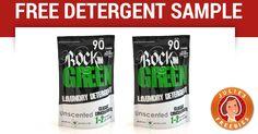 Free Rockin Green Detergent Sample