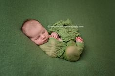 Green Cheesecloth Baby Wrap Cheese Cloth Fabric | Beautiful Photo Props