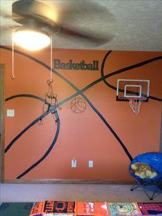 Holt' basketball wall