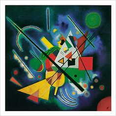 Paintings By Vladimir Kandinsky Wassily Kandinsky, Henri Matisse, Abstract Words, Abstract Art, Gerard Richter, Modern Art, Contemporary Art, Blue Painting, Art Plastique
