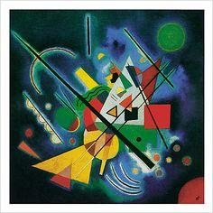Paintings By Vladimir Kandinsky Wassily Kandinsky, Henri Matisse, Abstract Words, Abstract Art, Gerard Richter, Modern Art, Contemporary Art, Blue Painting, Art Plastique