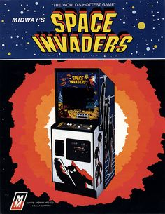 Space Invaders - The first video game I ever saw or played.