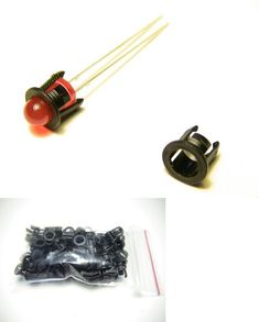 20 BIPOLAR 3MM  RED//GREEN LEDS FOR N SCALE CONTROL PANELS /& FREE RESISTORS