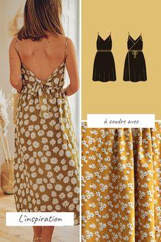 Formal Dress Patterns, Dress Sewing Patterns, Dress Pattern Free, Fabric Sewing, Couture Sewing, Couture Tops, Diy Clothing, Streetwear Fashion, Fashion Outfits
