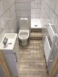Best Small Apartment Bathroom Decoration Ideas - Home .- Beste kleine Wohnung Badezimmerdekoration Ideen – Hause Deko Ideen Bathroom arşivleri – home decorating ideas - Tiny Bathrooms, Tiny House Bathroom, Bathroom Design Small, Bathroom Layout, Bathroom Interior Design, Amazing Bathrooms, Modern Bathroom, Bathroom Ideas, Bathroom Designs