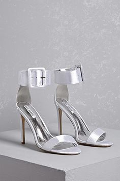 74702411fc3 Buckle Satin Heels Casual Summer Outfits For Teens