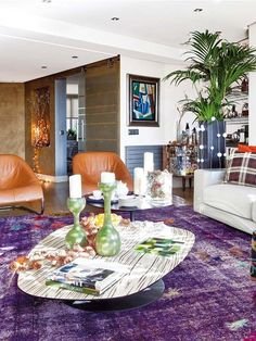 Madrdid apartment. Living room