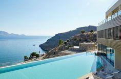 Hotel Lindos Blu, Lindos Greece.