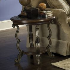 Ambrosia Round End Table | Riverside | Home Gallery Stores