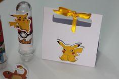 Sacolinha lembrancinha Pokémon - R$ 2,00 Tubete personalizado - R$ 2,80 cenarium.arte@hotmail.com