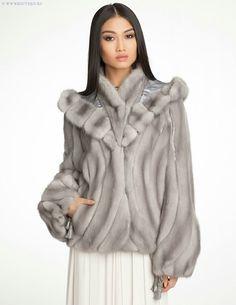 Faux Fur shaped jacket