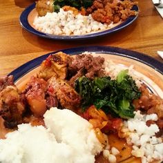 A Taste of Zimbabwe in Farnham at Sadza - Who's For Dinner?Who's For Dinner?