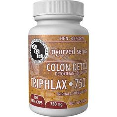 AOR Triphlax-750 Herbal Supplements - Cleanse/Detox - Health Conditions | Body Energy Club Supplements
