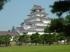 Aizuwakamatsu Castle - 会津若松城