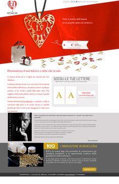InLove by Moonlight #webdesign #landingpage