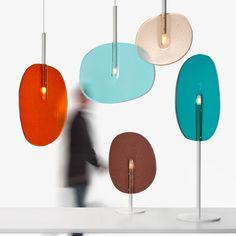 Lollipop | pendant lamp By lasvit, stained glass pendant lamp design Boris Klimek