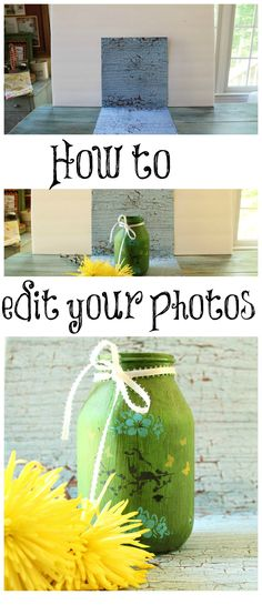 How to edit your craft projects and make them pinnable on pinterest