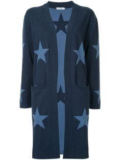 You'll find a great selection of designer cardigans for women at Farfetch. Search from over 2000 designers for the perfect women's designer cardigan Longline Cardigan, Spring Fashion Trends, Star Print, Long A Line, Cardigans For Women, Designing Women, Blue Tops, Women Wear, Cotton