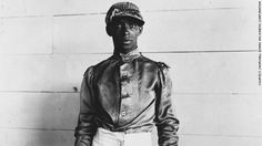 The first professional black American athletes were jockeys, who dominated the sport until the early 20th Century. Jimmy Winkfield (pictured) was the last black rider to win the Kentucky Derby in 1901 and 1902.