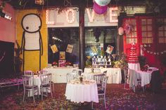 Steampunk, Wes Anderson & Woody Allen Wedding in Islington