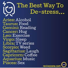 Nope,book are anti stress for me.and maybe a hug,some food,music and best frie. - Norma D. Zodiac Signs Taurus, Zodiac Sign Traits, Zodiac Memes, Zodiac Star Signs, Horoscope Signs, Zodiac Horoscope, My Zodiac Sign, Zodiac Quotes, Astrology Signs