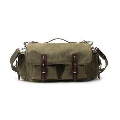 Canvas 5 Pocket Duffel Bag, Heavy Waxed Canvas Duffel $520