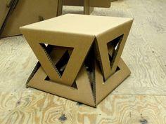 furniture diy 26 DIY Cardboard Furniture Ideas That Are Surprisingly Practical Cardboard Chair, Diy Cardboard Furniture, Paper Furniture, Cardboard Design, Cardboard Sculpture, Cardboard Crafts, Unique Furniture, Furniture Ideas, Coaster Furniture