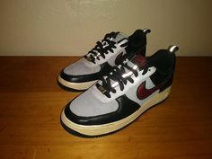 AIR FORCE 1 LOW PREMIUM SPIRIDON  318775 061 2008 metallic silver  size  9   Clothing, Shoes & Accessories, Men's Shoes, Athletic   eBay!