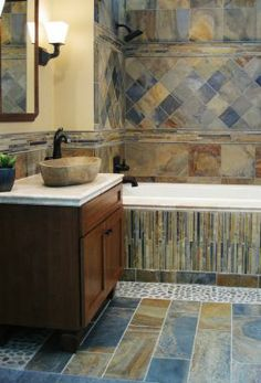 Copper rust slate tile A Cozy Abode Pinterest Slate Rust and