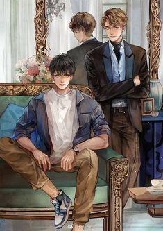 Harry Potter Anime, Harry Potter Fandom, Anime Love, Anime Guys, Harry Potter Illustrations, Pony Drawing, Image Manga, Boy Art, Character Drawing