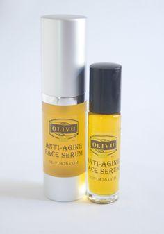 Olivu 426 - Anti-Aging/Moisturizing Face Serum, $12.00 (http://olivu426.com/anti-aging-moisturizing-face-serum/)