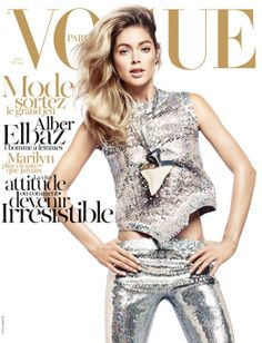David Sims April 2012 marks regular Vogue Paris collaborator David Sims' 11th cover for the magazine, featuring  Doutzen Kroes as a neo-mermaid in Givenchy sequins and shark's tooth necklace. Inside the magazine, Arizona Muse posed for the photographer, in the Attitude spread.