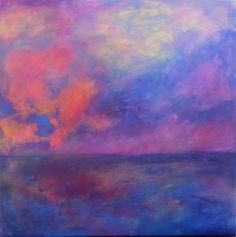 Moody Skies over Water by Sarah Richardson