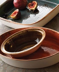 Bring the Delights of your Menu Directly to your Guests with Freshly Prepared Food Attractively Presented in Steelite's Cookware Range which are now Available in Craft Colours