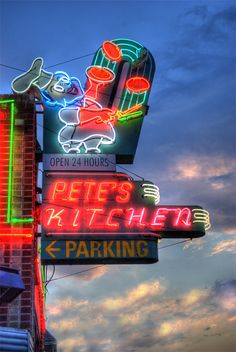 Pete's Kitchen ....Denver, Colorado  1962 E Colfax Ave Denver  OPEN 24 HOURS - 7 DAYS WEEK. Best breakfast burrito 2004