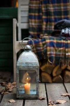 Shop terrain for decorative patio lighting and outdoor lanterns. Our outdoor lanterns, string lights, and votives use a mix of solar power, battery power, and LED bulbs. Autumn Aesthetic, Autumn Cozy, Late Autumn, Candle Lanterns, Lanterns Decor, Cabins In The Woods, Fall Harvest, Autumn Inspiration, Happy Fall