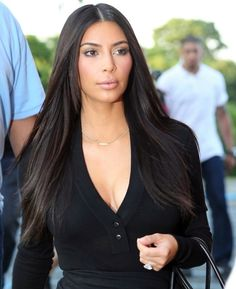 Kim Kardashian Long Straight Hair 1000+ images about hair on pinterest ...