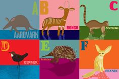 A-Z of extraordinary animals by Hannah Broadway