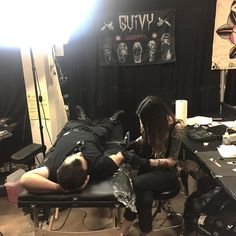 GUIVY Tattoo (Switzerland)   (@ Musink 2018 Tattoo Expo LOS ANGELES)  #geneva #geneve #swiss #made #tattooer #tattooist #switzerland #swiss made #tatouage #tatoueur #shop #studio #salon #tatoueur #tatoueuse #artist #contest #working #busy #hellcat -#jonction #gva #lausanne #zurich #bern #annecy #lyon #travel #roadtrip #usa Tattoo Expo, Geneva Switzerland, Lausanne, Bern, Zurich, Road Trip, Photos, Studio, Tattoos
