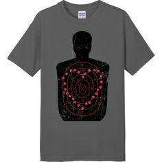 Target Practice Love T-shirt - Love Is A Battlefield #heart #love #killingmesoftly
