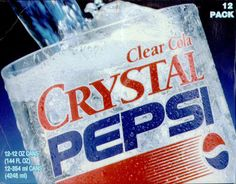 clear PepsI