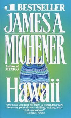 I always like to reread some classics along with new books. Just jumped into the saga of Hawaii, by James A Michener, again. I Love Books, Great Books, New Books, Books To Read, James A Michener, First Novel, Historical Fiction, Book Authors, So Little Time