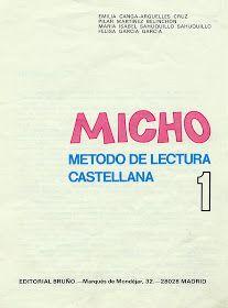 Los duendes y hadas de Ludi: Micho 1 método de lectura Teaching, Lego, Pie, Texts, Frases, Reading Books, Textbook, Read And Write, Torte