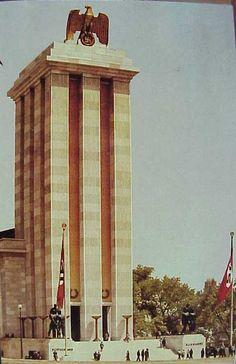 German Nazi pavilion Re-pinned by HistorySimulation.com