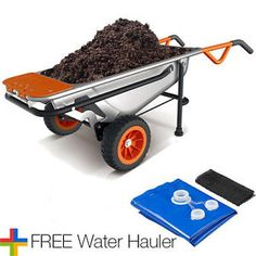 WG050 WORX 8-in-1 Aerocart Wheelbarrow Garden Yard Cart  FREE Water Hauler  $99.99  $329.99  (7037 Available) End Date: Apr 272016 07:59 AM GMT-07:00