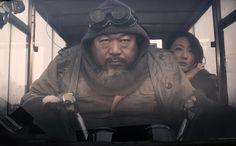 Ai weiwei stars in a secret science fiction film on kickstarter