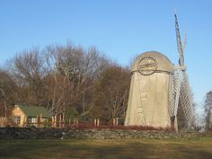 Histotric Windmill at Jamestown Island, RI