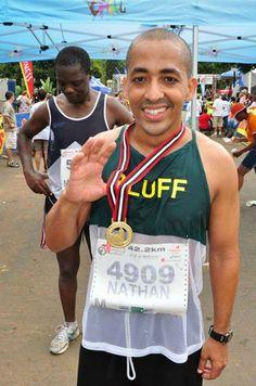 "Nathan martin, ""I'm running Mandela Marathon for Tata Madiba"""