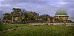 City Observatory & Playfair Monument, Calton Hill, Edinburgh